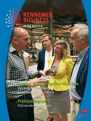 Kennmer Business Magazine Omslag