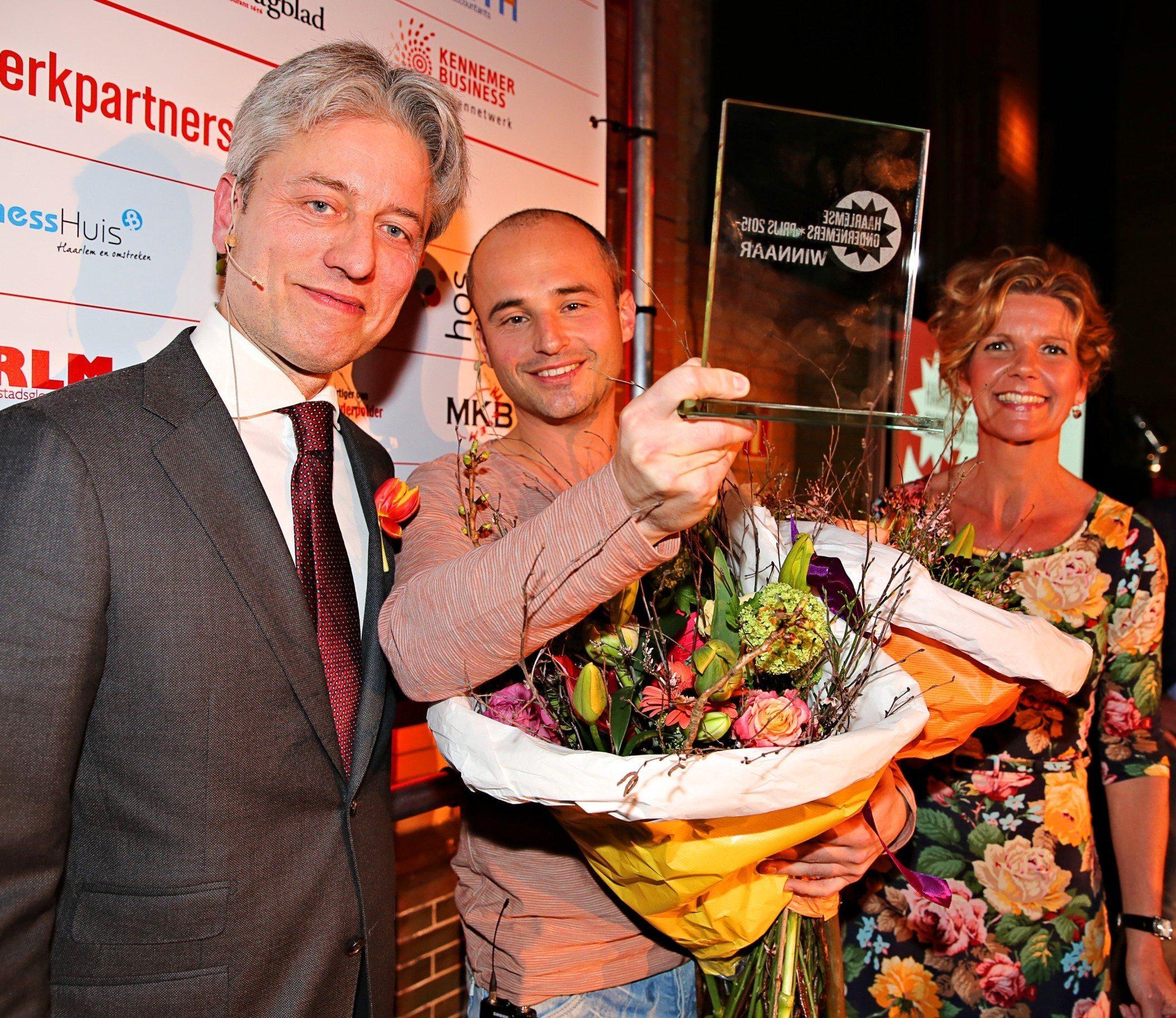 tim vardy winnaar haarlemse ondernemers prijs 2015