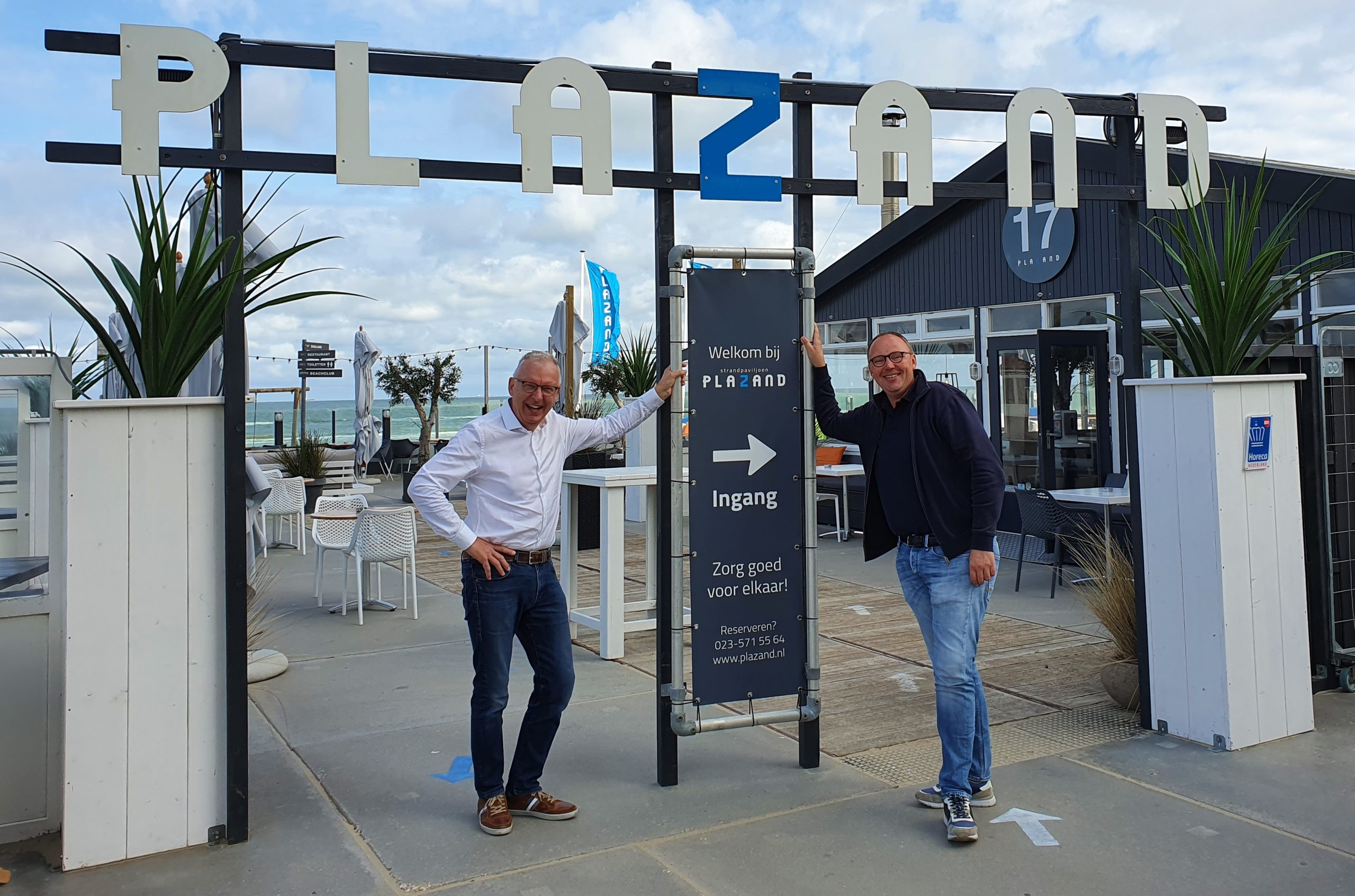 kennemer-business-beach-borrel-2020-plazand-zandvoort-john-cornelisse-rob-wieleman
